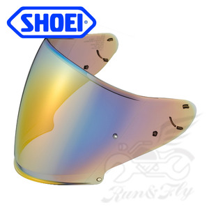 [쇼에이] SHOEI 헬멧 쉴드 미러 실버, 블루, 오렌지 CJ-2 PINLOCK MIRROR SILVER, BLUE, ORANGE (J-CRUISE, J-FORCE4 / CJ-2 핀락) (3COLOR)
